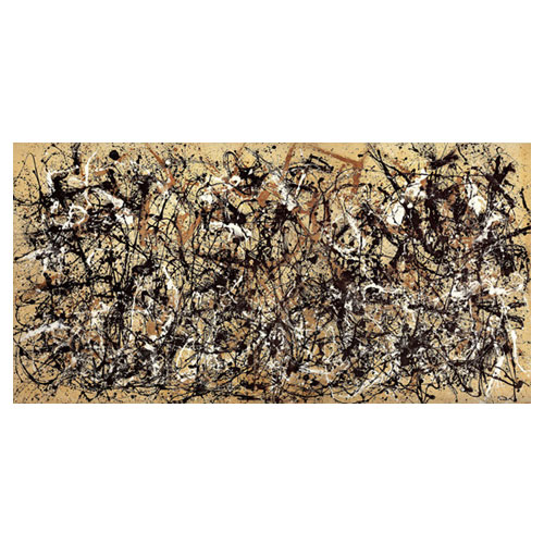 가을리듬, 넘버 30 - 잭슨 폴록 / 추상화그림 (인테리어액자)
